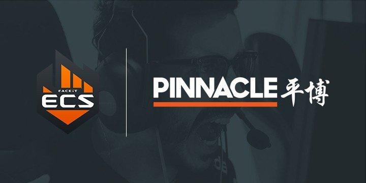 Pinnacle становится основным беттинговым партнером ECS 2019