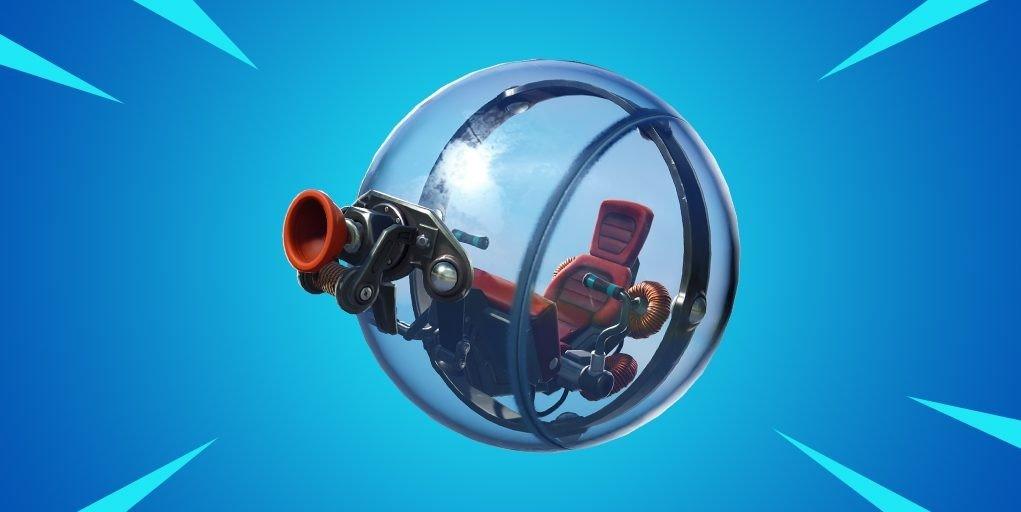 Новый транспорт в Fortnite The Baller