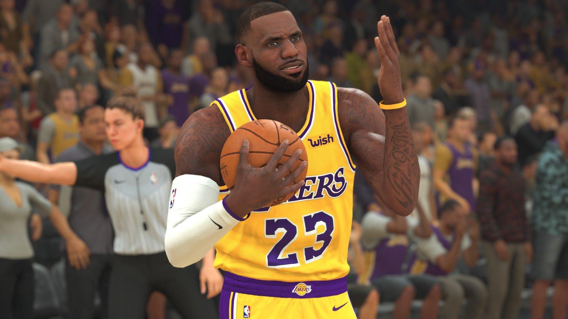 Топ8 лучших игроков в NBA 2K20