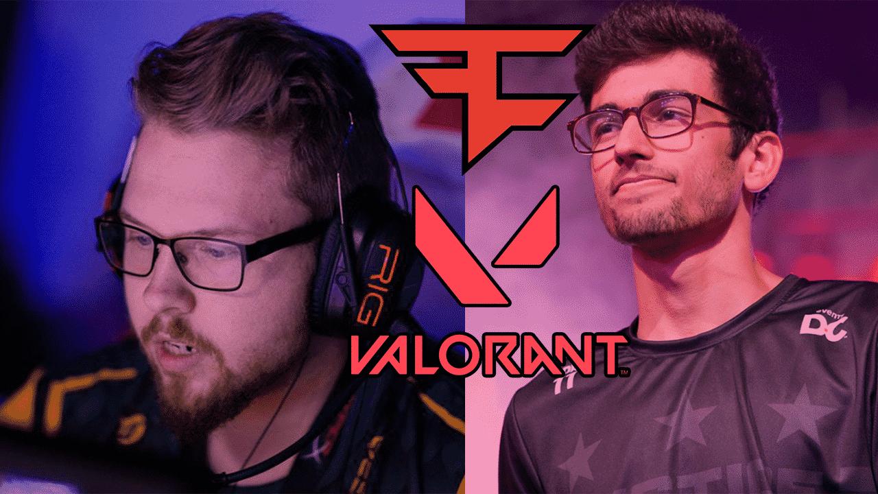FaZe Clan анонсировали состав по Valorant Первыми бойцами стали 2 бывших игрока из CSGO и Overwatch