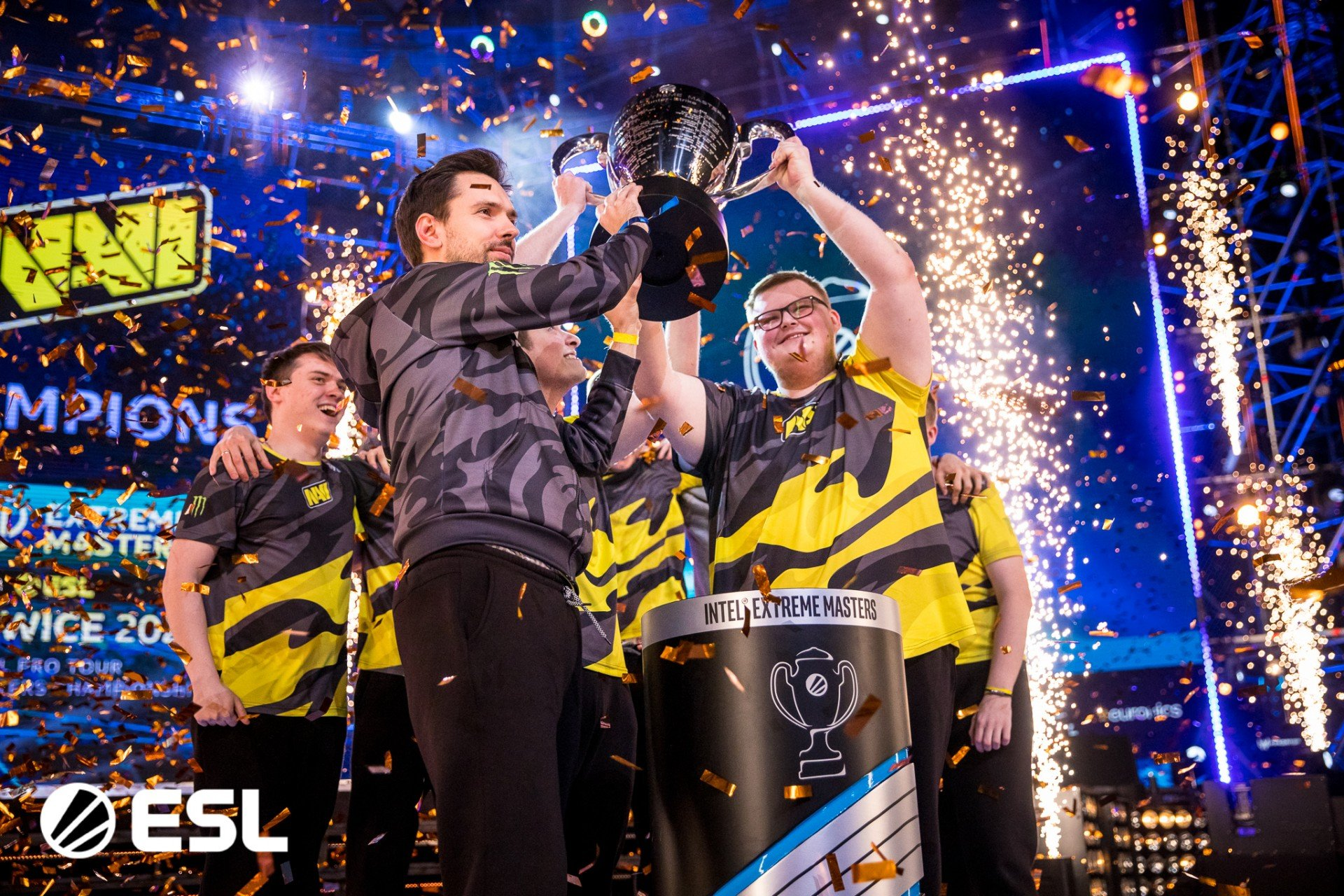 Natus Vincere выиграли WePlay Clutch Island