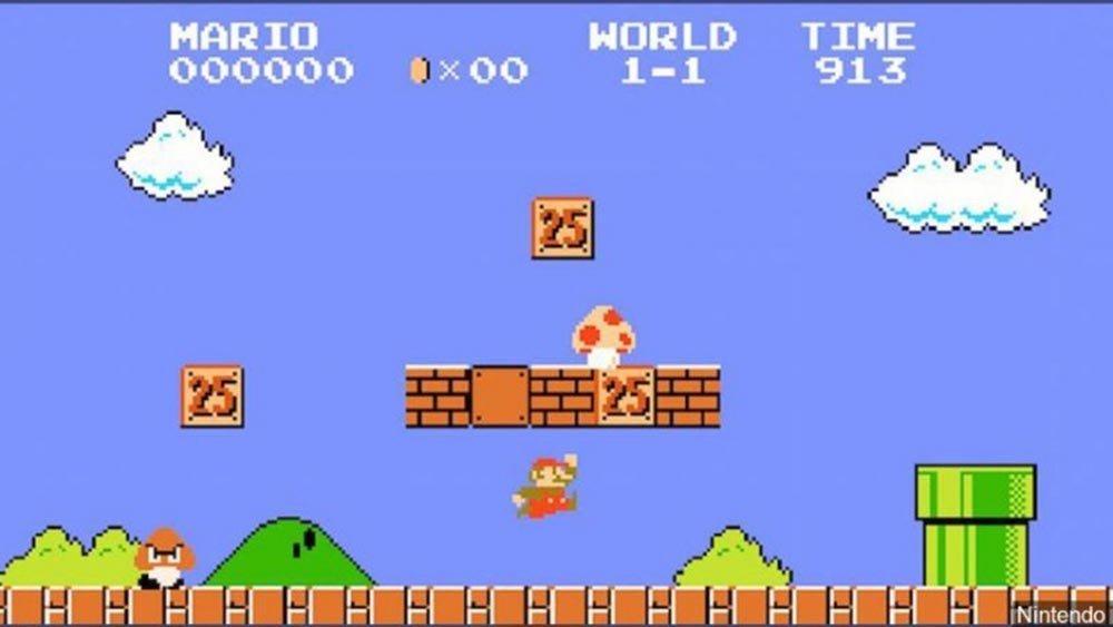 Самая дорогая игра картридж с Super Mario Bros для NES был продан с аукциона за 114 тыс
