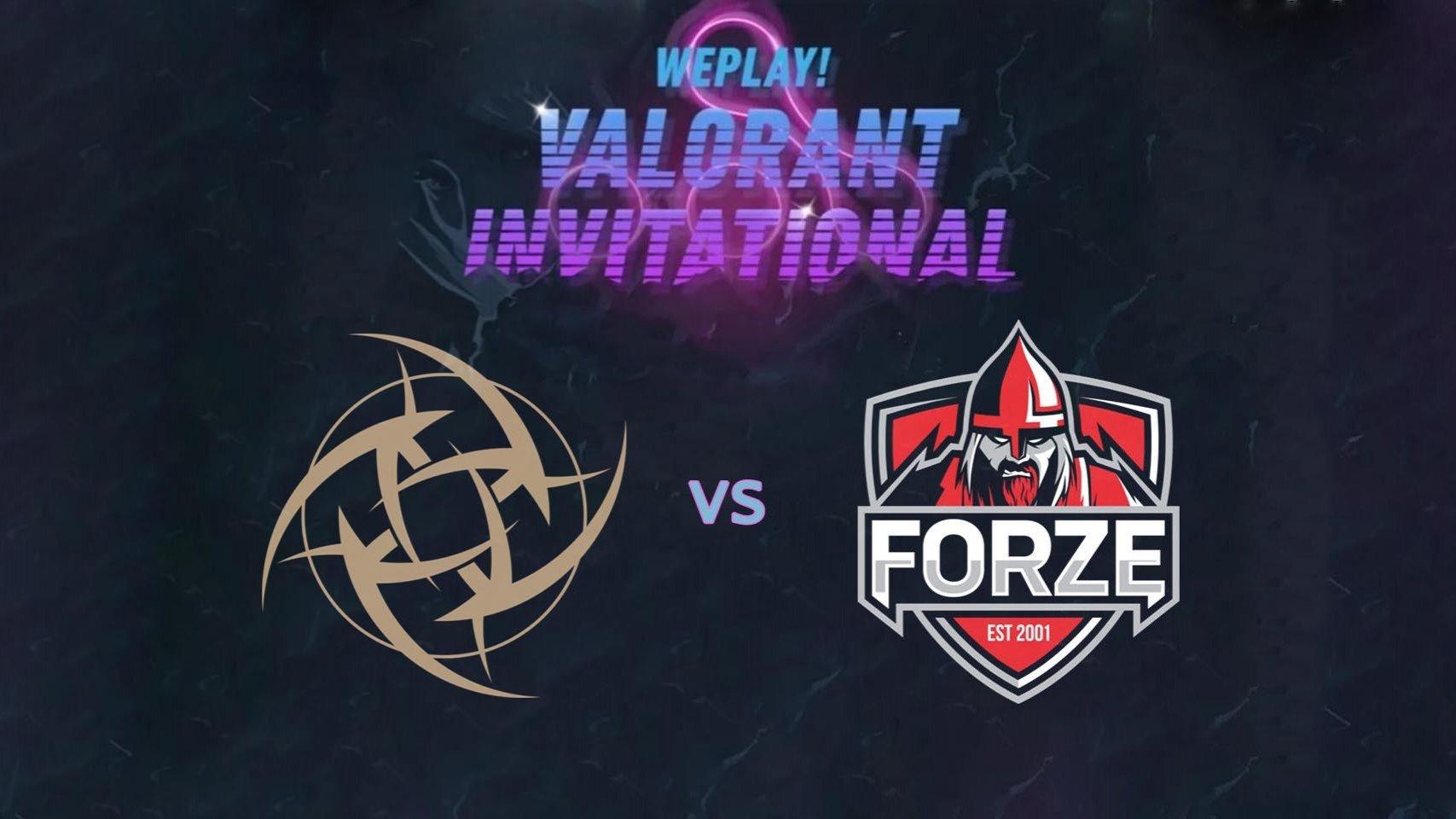 NiP начали групповую стадию WePlay VALORANT Invitational с уверенной победы над forZe