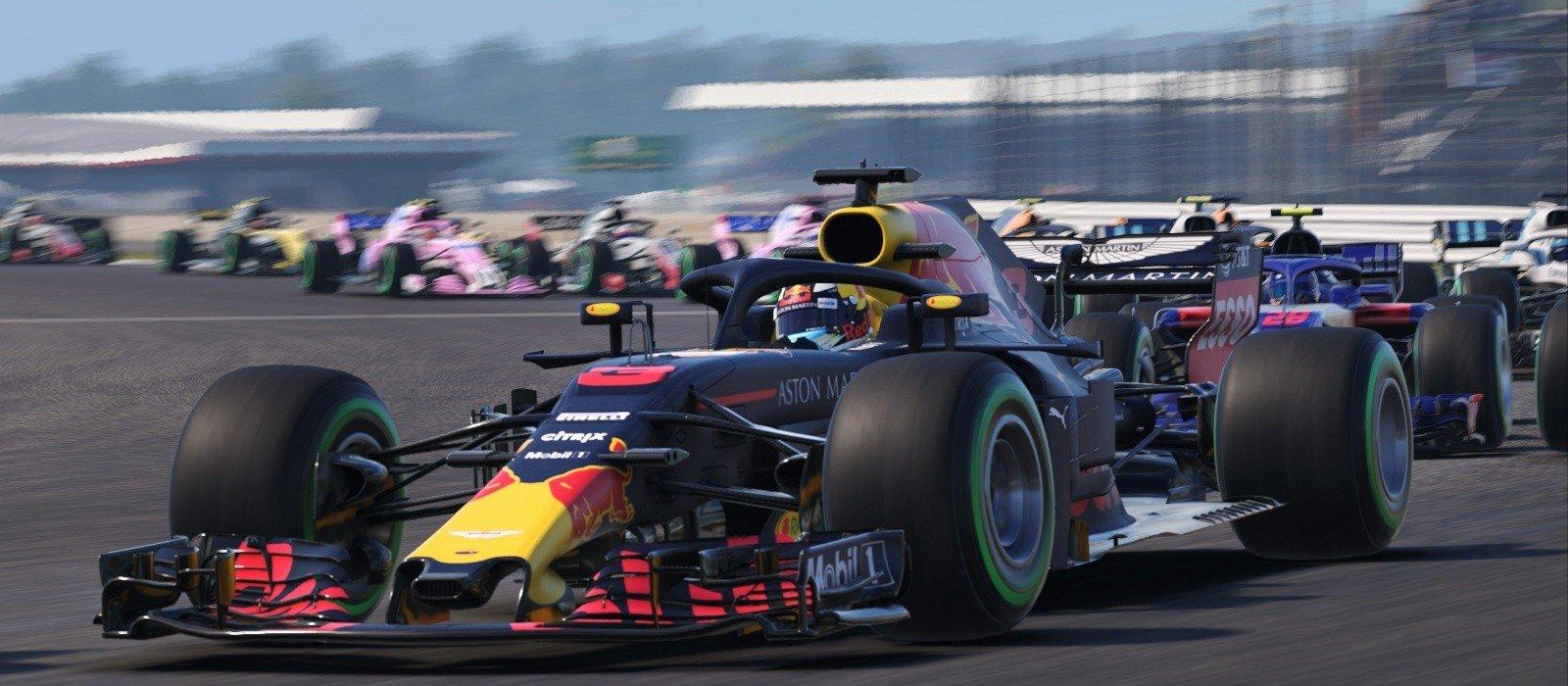 Халява Steamверсию игры F1 2018 можно получить бесплатно на Humble Bundle