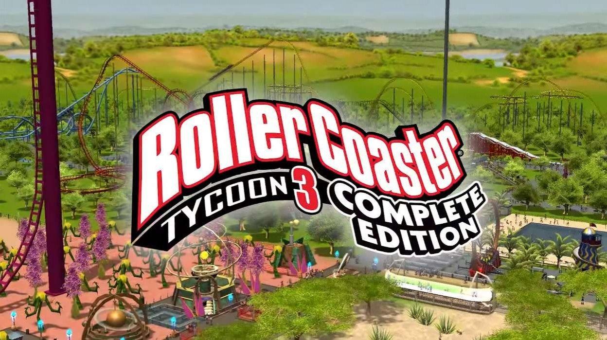 В Epic Games Store началась раздача игры RollerCoaster Tycoon 3 Complete Edition